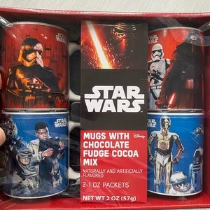 2 for $20: A set of 4 Star Wars Mugs